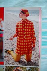 Checkered coat (<Vicky's Flicks>) Tags: fashion vintage 60s retro 1967 1960s magazines sixties seventeen