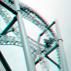 Insane Gröna Lund 3D Anaglyph (coronetv000) Tags: park camera lund 35mm square tivoli three stereoscopic stereogram stereophotography 3d crosseye insane sweden stockholm anaglyph swedish stereo realist roller theme format rollercoaster parallel coaster funfair redblue 3dglasses gröna stereoscope dimensional stereocamera crossview grona anaglifo redcyan anachrome stereophotographic virtical anáglifo anaglifica
