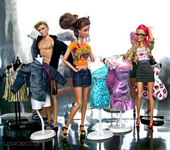 Dressin' Up (fashionisto2k) Tags: fashion glasses mannequins dolls sassy ken barbie teresa mattel fever fashionistas stardoll f2k desss