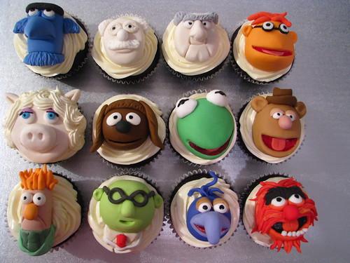 Muppet Cupcakes!