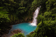 Celeste Catarata (Sky Blue Waterfall) near volcan Tenorio (mikebaird) Tags: costarica getty gettyimages tenorio mikebaird 03may2012