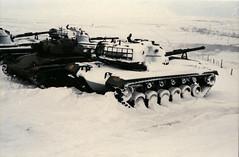 A snowy M-48 (patton) mbt at Hjerkinn (GeirB,) Tags: winter snow norway patton military mbt tanks m48 stridsvogn