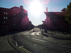 Blinded By The Sun (YODspica) Tags: cardiff cardiffcitycentre