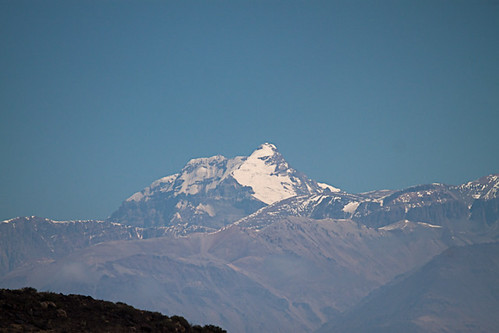<p>Aconcagua! The highest mountain in the Americas. It is an absolutely massive piece of rock. </p>