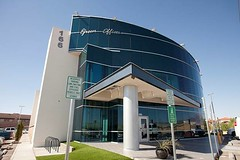 Virgin Galactic's new Las Cruces location at the LEED-certified Green Offices Building. Photo by Jesse Ramirez