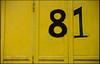 20120609_108 (sulamith.sallmann) Tags: signs berlin yellow germany deutschland europa number gelb numbers deu lichtenberg zahlen 81 zeichen gelbschwarz rummelsburg berlinlichtenberg ziffern zahl ziffer sulamithsallmann