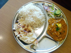 iPhone 9646 (raqib) Tags: food chicken mobile lunch indian dal curry rc roti indianfood thali daal iphone thala rooti anshumaandadhaba