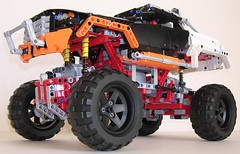 LEGO Technic 9398 4x4 Crawler (RS 1990) Tags: steering lego suspension wheels technic elements motor 2012 axles 9398 powerfunctions 4x4crawler