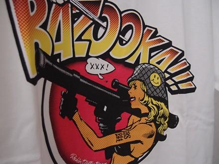 Erostika - Rockin'Jelly Bean × 「BAZOOKA!!!」LOGO T恤