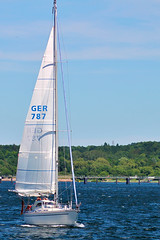 (Sven Festersen) Tags: blue sea green germany deutschland boot boat meer sailing balticsea grün blau ostsee kiel segeln segelboot schleswigholstein darktable kielerwoche2012 kielweek2012