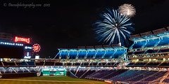 DC Fireworks - Nats Style (Dwood Photography) Tags: park blue red washingtondc dc washington baseball fireworks stadium redwhiteandblue nationals washingtonnationals baseballstadium nationalspark dwoodphotography dwoodphotographycom