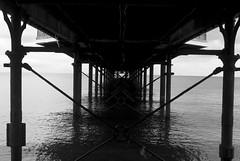 Late of the Pier (TimAndrewsPhotography) Tags: bw white black photography pier tim seaside nikon andrews devon paignton torbay d60