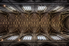 Chester Cathedral - The Nave Ceiling (17x exposure HDR) (Mark Carline) Tags: cathedral ceiling chapels chester temples domes hdr mosques dslrcontroller