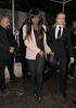 Alexandra Burke leaving Aura nightclub at 3.45am. London, England