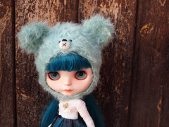 'Mint Bear Princess' OOAK Set