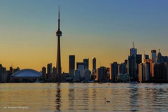 toronto skyline sunset (Rex Montalban Photography) Tags: sunset toronto skyline nikon hdr d7000 rexmontalbanphotography viewfromtorontoislands