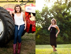 Jenna | Senior (Grant Mills Photography) Tags: red tractor jenna senior girl nikon friend cowboy dress boots country 18 85 18g d7000
