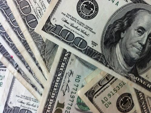 From flickr.com: 100 Dollar Bills {MID-186973}
