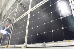 """Solar panels, mounted • <a style=""""font-size:0.8em;"""" href=""""http://www.flickr.com/photos/27717602@N03/7668616278/"""" target=""""_blank"""">View on Flickr</a>"""
