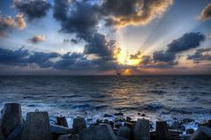 Angry sky (nabilelsherif) Tags: sea sky sun clouds nikon magic nikkor hdr d90 18105mm bestcapturesaoi elitegalleryaoi mygearandme mygearandmepremium
