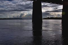 UNDER THE OLD BRIDGE (midge3426) Tags: mississippiriver memphistennessee theoldbridge memphishistory undertheoldbridge mississippiriveratmemphis lowwateronthemississippi memphisbridgemississippiriverbridge