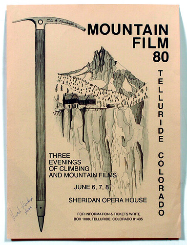 1980 Mountainfilm in Telluride Festival Poster