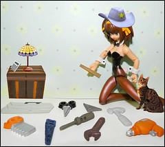 Wish #1 - Help The Homeless (MarilynTee) Tags: anime actionfigure tools wish revoltech jfigure oneobject365daysproject frauleinrevoltechharuhisuzumiyabunny