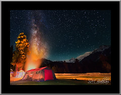 Galaxy On Fire (SMBukhari) Tags: pakistan sky night stars landscape fire village bonfire galaxy camps rama milkyway gilgit baltistan astore tenst syedmehdibukhari smbukhari ramagah ramameadows
