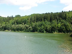 "Lake of ""Herrenbachstausee"" (ruthug08(on and off )) Tags: herrenbachstausee"