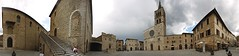 temporale a bevagna / gewitter ber bevagna / tempest at bevagna (mp.ch) Tags: italien italy panorama buildings town nikond70s stadt tempest gewitter stitched gebude umbria panoramicview ptgui umbrien bevagna zusammengesetzt