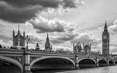 Westminster Bridge (mdavies149) Tags: bridges londonbridges london rivers thames uk bw westminsterbridge buildings bigben londonbuildings nikon d600 michaeldavies
