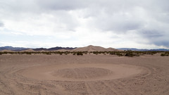 Sand Circle near Area 51 (joeqc) Tags: county canon big desert nevada dune nye ufo nv area 51 area51 6d amargosa ef24105f4l