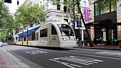 Tri Met LRV (Laurence's Pictures) Tags: street railroad light car oregon portland trolley rail railway transit streetcar rapid