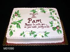 M01090 (merrittsbakery) Tags: cake retirement flowers