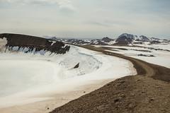 Krafla Viti Crater 04 (sarahmonious) Tags: kraflaviticrater kraftla viti myvatn kraftlavolcano volcanocrater crater hverir snow route1iceland route1 ringroad iceland iceland2016 icelanding2016 traveling
