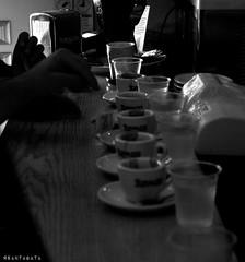 Caff (Apollyon Sun) Tags: caff coffee bar amici friends blackandwhite biancoenero monocromo