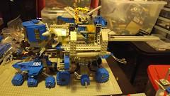 Mmmmm.... SPACE!!!! (blamos86) Tags: lego space wip classic monorail work progress moc benny