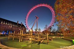The Eye 1 (Amani Hasan) Tags: eyeoflondon london park nightview