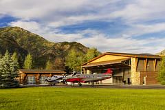 Pilatus PC-12 NG (Next Generation) (aeroman3) Tags: aerial alpine cabin ground mountains pilatuspc12ng pressurized turbine turboprop wy usa