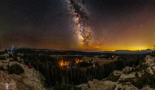Bald Mountain Pass Milky Way