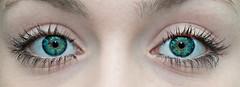 Green Eyes (Nereus[GER]) Tags: green eyes grne augen seele soul canon eos 70d 100mm f28 makro