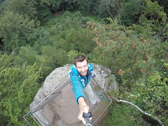 G0273424 (Tom Vymazal) Tags: goprohero4 gopro hero4 hory esk republika rozhledna vyhldka skly skaln msto prachovsk panoramata stezky jn hrad kost trosky cyklovlet pamtky