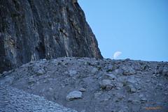 ... SETTEMBRE ... (EXPLORE) (Fulvia e Gabriele : ) ....) Tags: natura montagne ghiaccio luna cielo blu