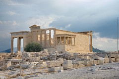 Erechtheum (Herculeus.) Tags: 2016 acropolis antiquity archeologicalsite athens aug buildings erechtheum greece temples caryatids greek 5photosaday