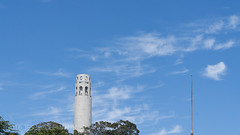 CoIt Tower (jessecoleman2k) Tags: sanfrancisco clouds coittower landmarks ca unitedstates