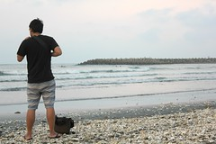 IMG_7853 (Pia Cheng) Tags: sea tainan travel trip nature awesome   relax sky beach view  taiwan