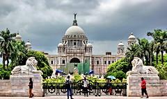 Victoria Memorial - Kolkata (sajan-164) Tags: victoria memorial hall white marble west bengal india sajan164