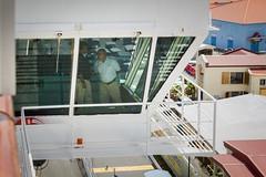A Peek at the Bridge (Jerry Bowley) Tags: cruiseship cruise bridge charlotteamalie usvi vacation holiday usvirginislands shipsbridge balcony stthomas virginislands lidodeck carnivalglory easterncaribbean verandahdeck caribbean stateroom carnivalcruiselines