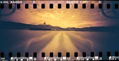 Viaggio sul pianeta rosso (danielesandri) Tags: trieste muggia traghetto marte forostenopeico film friuliveneziagiulia kodak redscale tina135 pellicola pinhole mare adriatico