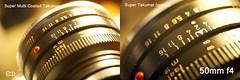 Takumar macro 50 mm compared (Ney Bokeh) Tags: takumar 50mm macro m42 mf dof